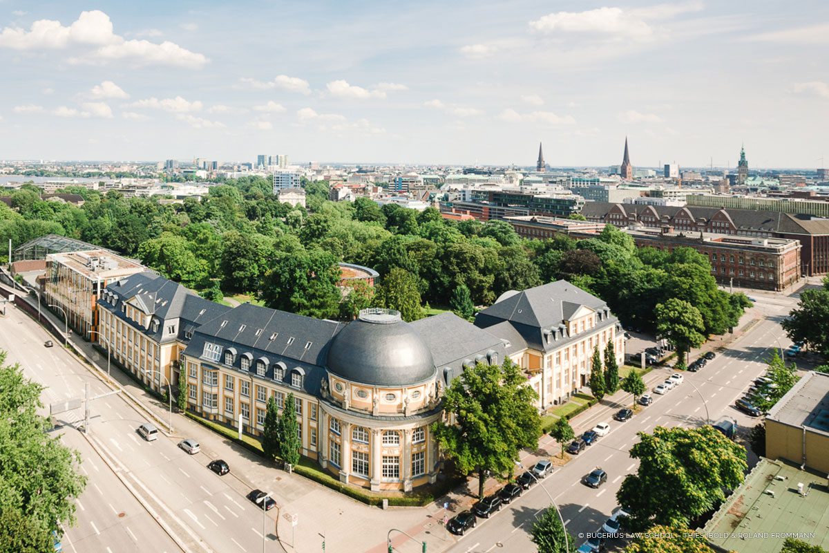 Bucerius Law School Airpicture